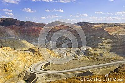 Mine de cuivre