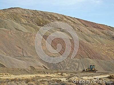 Mine operations at Sulphur, Nevada