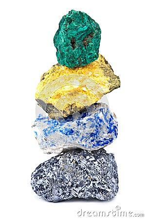 Minerais isolados