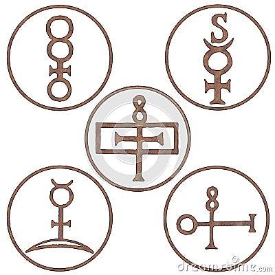 Mineral Spirit Symbols