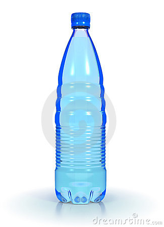 Mineral Water In Plastic Bottle Royalty Free Stock Photo