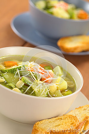 Free Minestrone Soup Royalty Free Stock Photography - 26318667