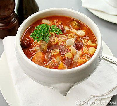 Free Minestrone Soup Stock Photography - 8765992
