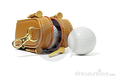 Mini bag of golf balls