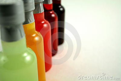 Mini Bar Bottles