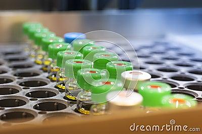Mini bouteilles vacciniques