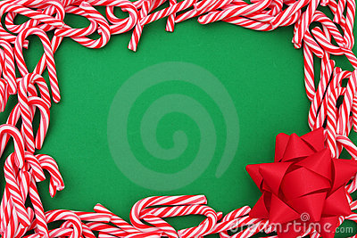 Mini Candy Cane Border