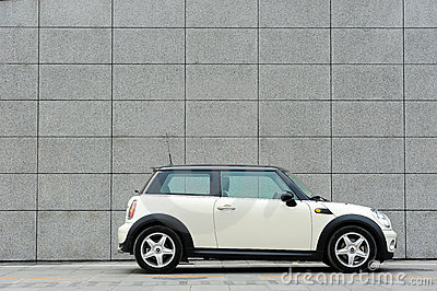 Mini Cooper Editorial Image
