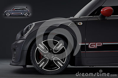 Mini cooper gp Editorial Photography