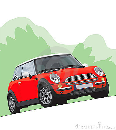 Free Mini Cooper Illustration Stock Photos - 188043