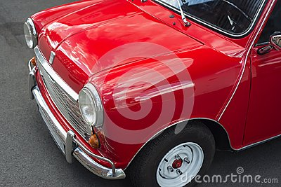 Mini Cooper Stock Photo