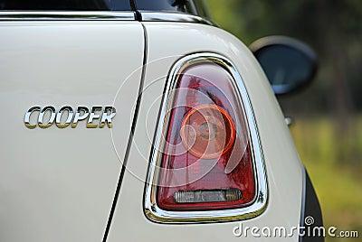 Mini Cooper,Part Editorial Stock Image