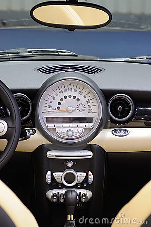 Mini cooper s Car interior