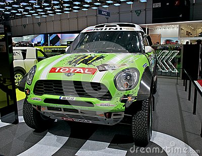 Mini Dakar race car Editorial Photography
