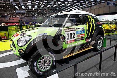 Mini Dakar race car Editorial Stock Photo