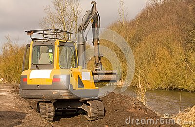 Mini Digger Royalty Free Stock Photo - Image: 8417545