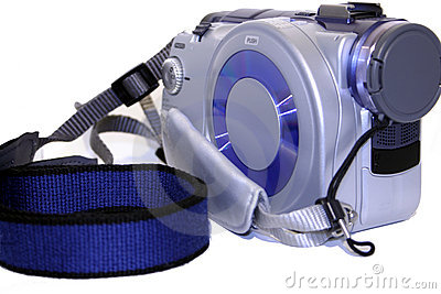 Mini disk camcorder