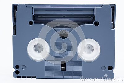 Mini DV tape (with clipping path)
