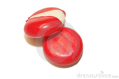 Mini edam cheeses