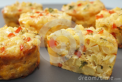Mini Frittata Finger Food