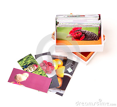 Mini Photo Business Cards