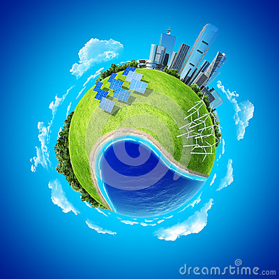 Free Mini Planet Concept Royalty Free Stock Image - 24631596