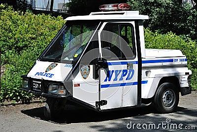 Mini Police Car Editorial Stock Image