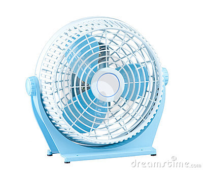 Mini portable electric fan