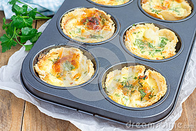 Mini Quiche Stock PhotoImage48054336