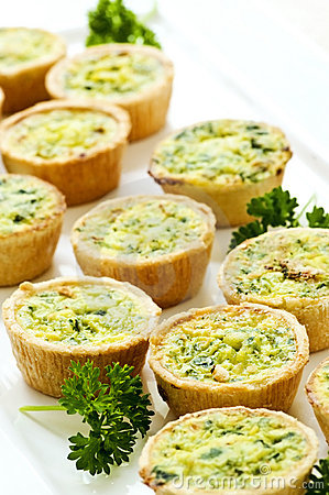 Free Mini Quiches Stock Images - 9905204