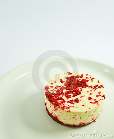 Mini Red Velvet Cheesecake