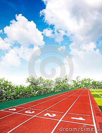 Mini-soccer pitch
