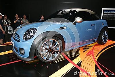 Mini sport car concept Editorial Stock Image