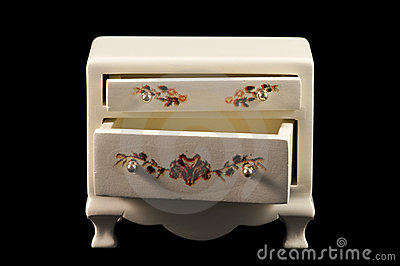 Miniature chest of draws