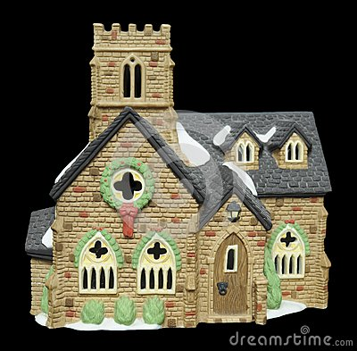 Miniature Christmas Church
