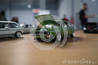 Miniature of classic german car