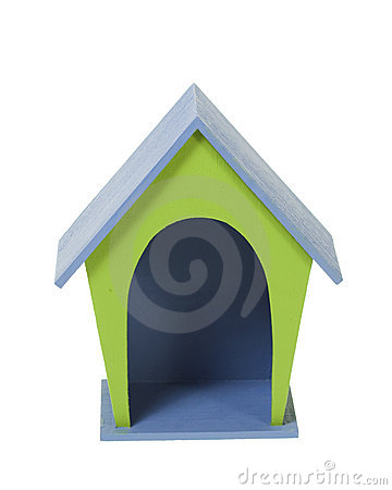 Miniature Craft Wooden Dog House