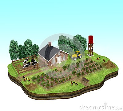 Miniature of a Farm Concept