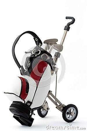 Free Miniature Golf Bag Stock Photo - 4872030