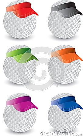 Free Miniature Golf Balls Stock Photos - 8915323