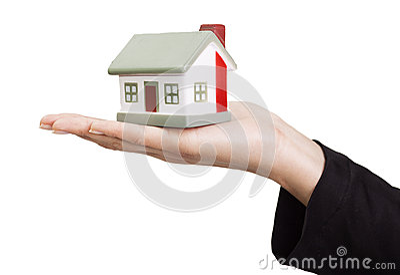 Miniature model house