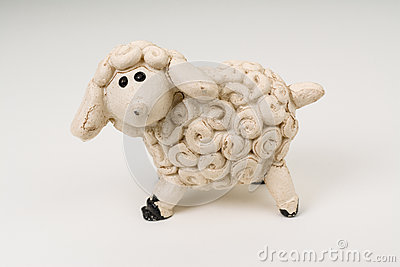 Miniature Model Sheep