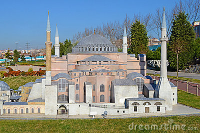 Miniature Mosque Editorial Stock Photo