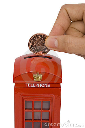 Miniature phone box