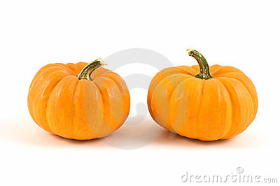 Miniature pumpkins