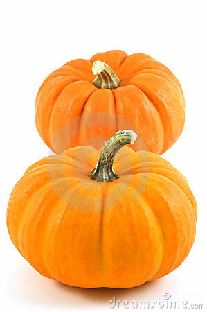 Miniature pumpkins