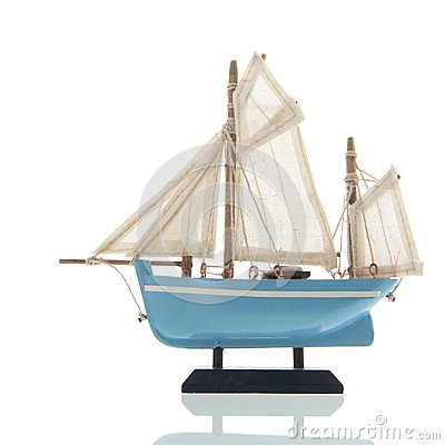 Free Miniature Sail Boat Stock Images - 124650114