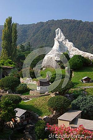 Free Miniature Switzerland Royalty Free Stock Images - 7952549