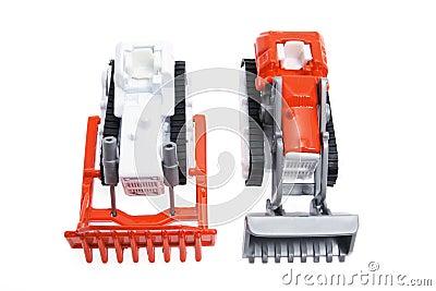 Miniature Toy Farm Vehicles