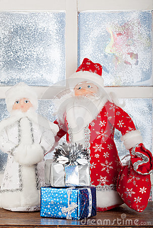 Miniature toy Santa Claus, Snow Maiden